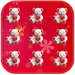Teddy Bear Pattern Lock 1.0 Apk