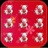 Teddy Bear Pattern Lock