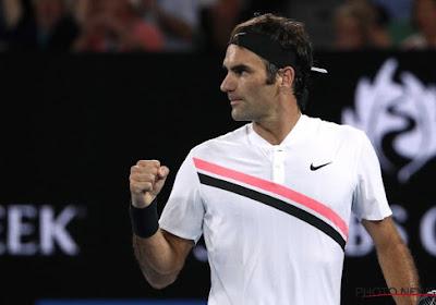 Hij doet het opnieuw, nummer 6 in Melbourne en nummer 20(!) in totaal voor Roger Federer