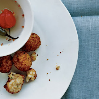 Cheddar Rice Fritters.