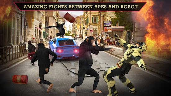 Angry Apes vs Modern Robots War 2018 ? - náhled