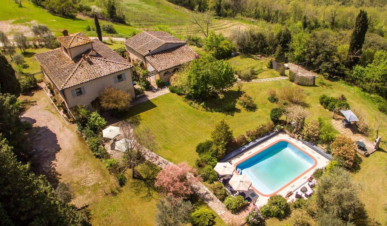 Villa avec piscine San Gimignano