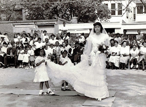 Photo: May Procession_ Joan Savoy- May Queen_St Cyprian Parish