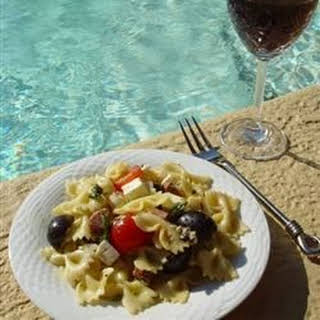 Pool Party Pasta Salad.