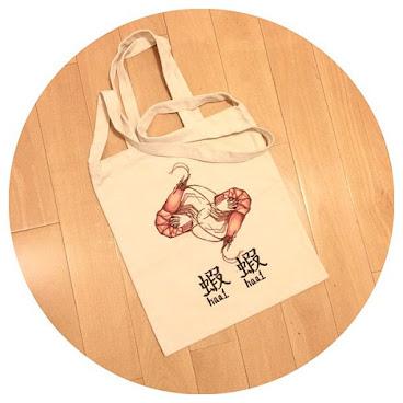 蝦蝦 兩用袋