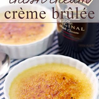 Irish Cream Crème Brûlée