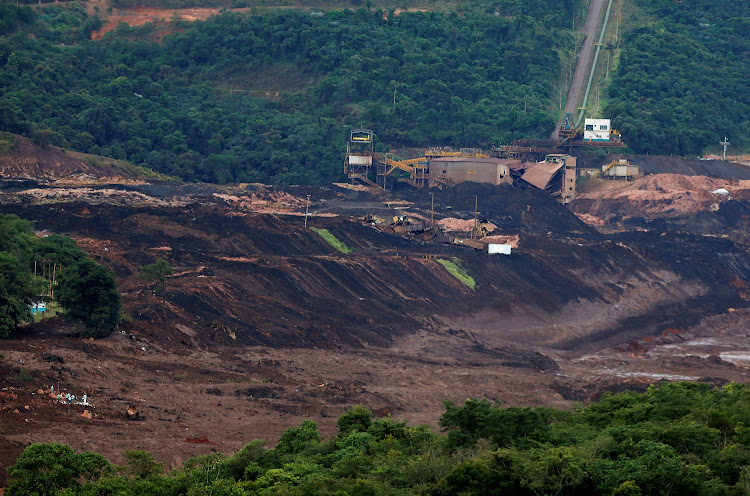 A view of a tailings dam owned by Brazilian miner Vale SA that burst, in Brumadinho, Brazil January 26, 2019. REUTERS / ADRIANO MACHADO