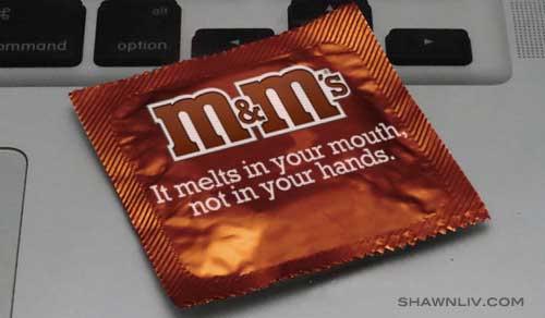 M&M's Condom