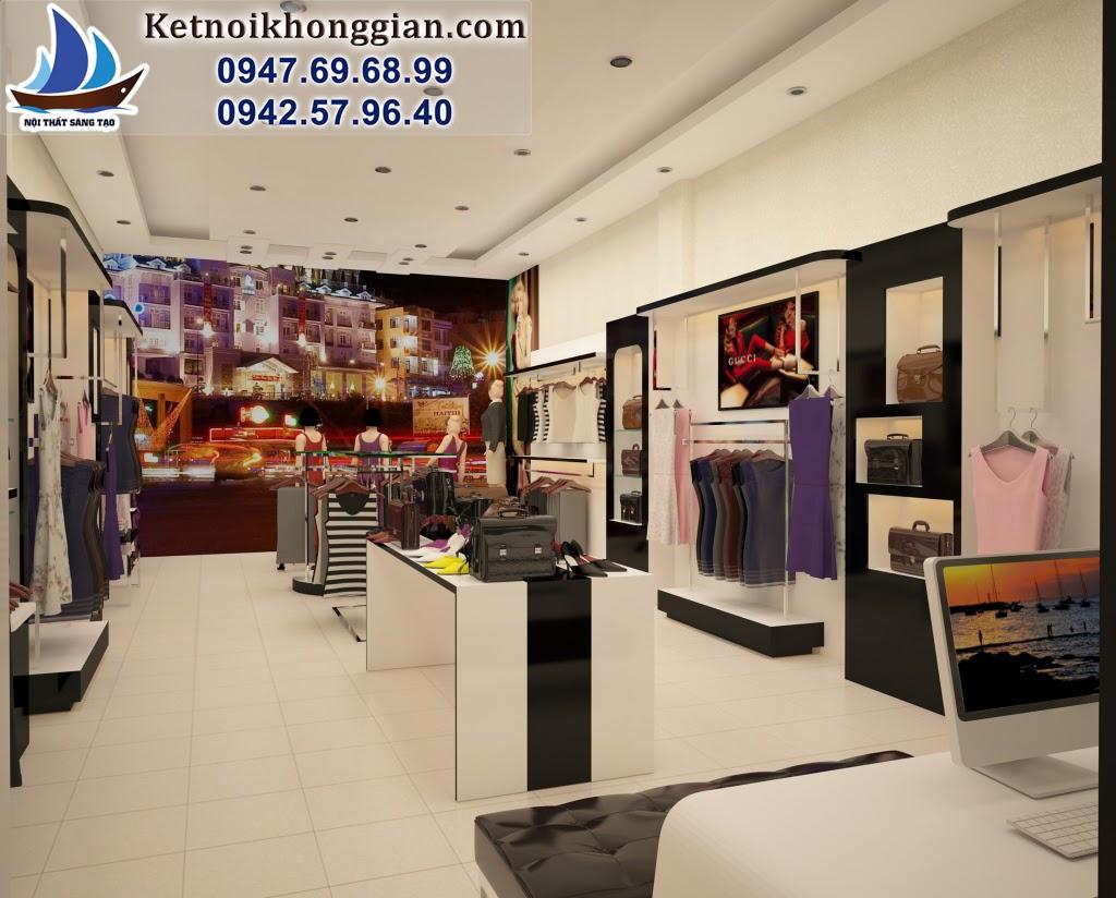 thiết kế shop thời trang nữ chất lương cao giá thành tốt