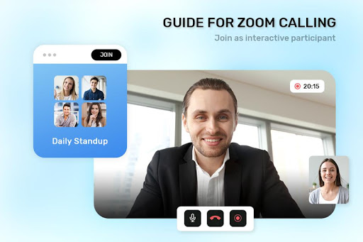 Guide For ZOOM Cloud Meetings VideoCall Conference screenshot 1