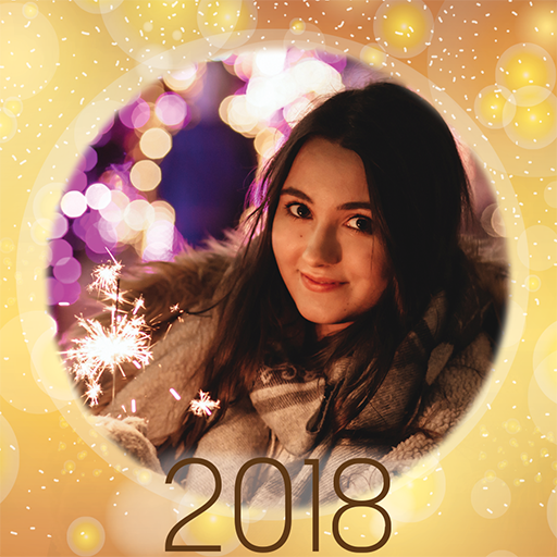 Happy New Year Photo Frames 2018
