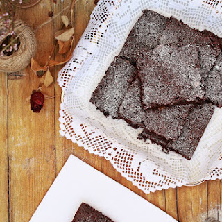 Beetroot and Chocolate Brownies.
