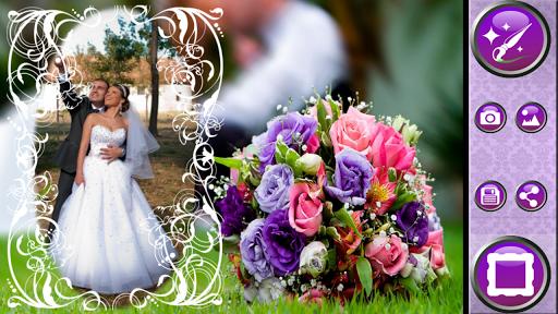 結婚式フレームフォトエディタ