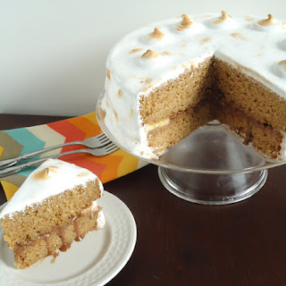 Elvis S'mores Cake.