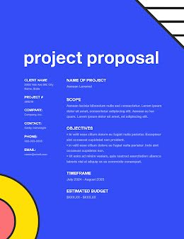 Mod Project - Project Proposal item