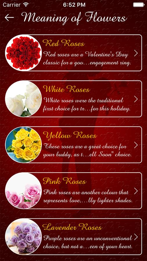 valentines cards maker sms screenshot