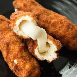 Mozzarella Stick Chicken Fries.