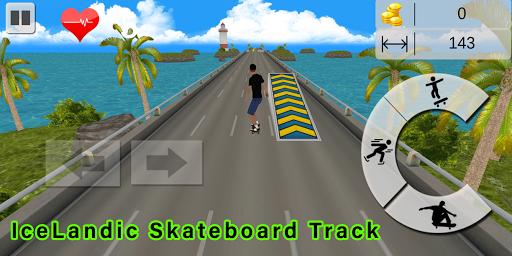 Code Triche Flip Skater Game,Pro Skateboard Endles 3D game mod apk screenshots 1