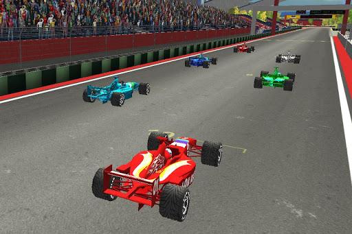 真正的快速方程式賽車3D