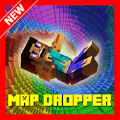 Dropper Map for Minecraft PE