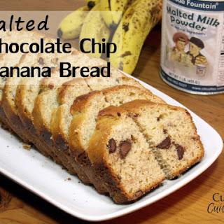 Malted Choc Chip Banana Bread.