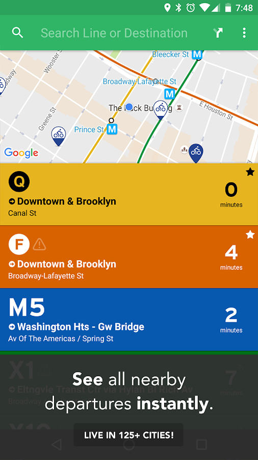 Transit: Real-Time Transit App- screenshot