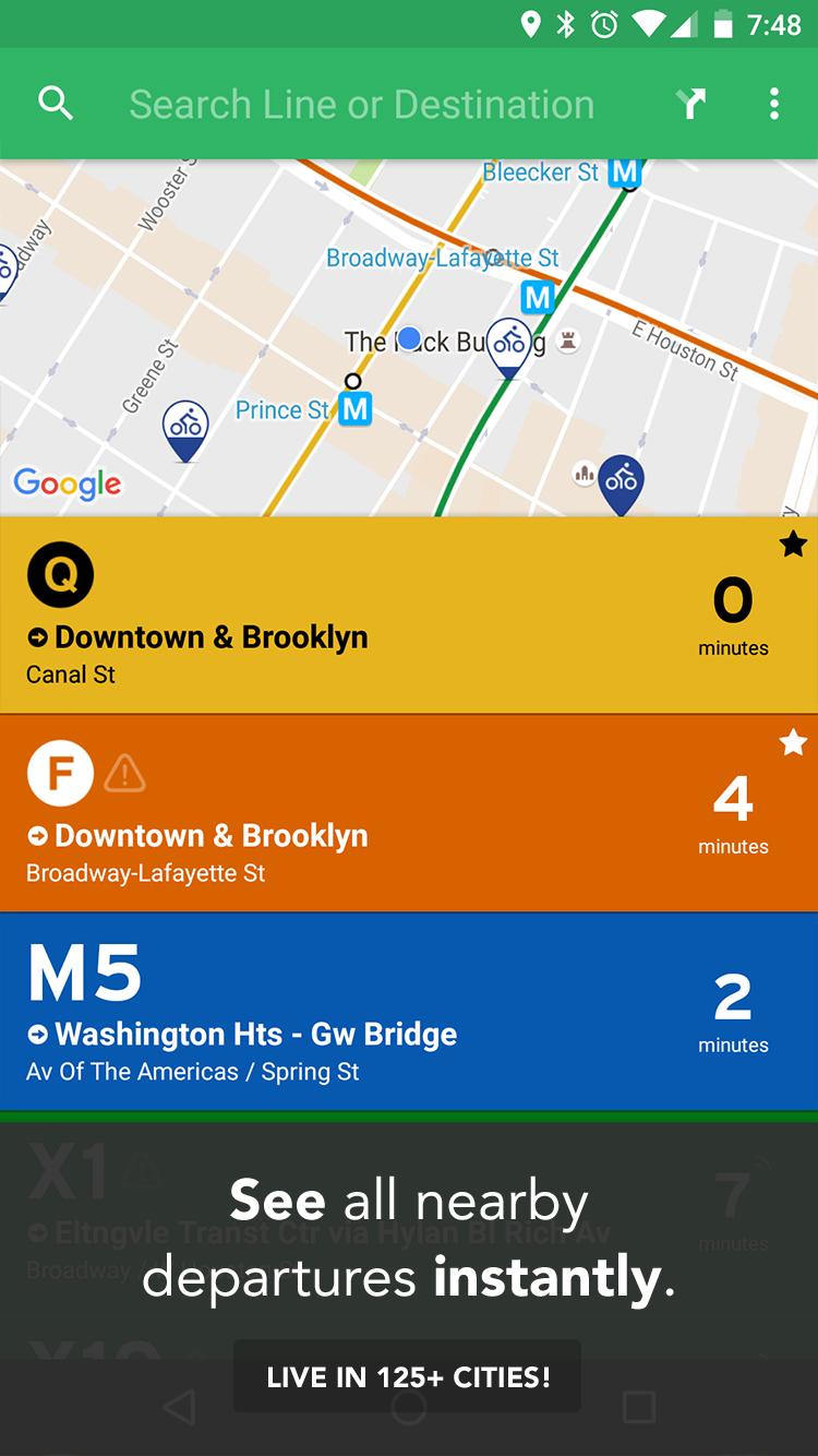 Transit: Real-Time Transit App screenshot #1