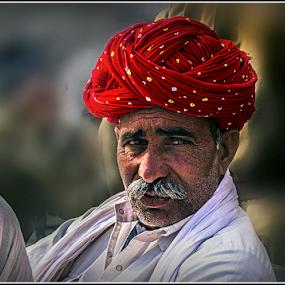 by Debasis Banerjee - People Portraits of Men