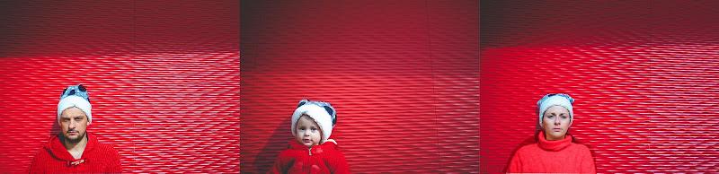 red family portrait di simona cancelli