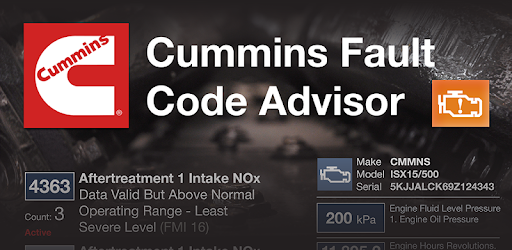 Cummins Fault Code Advisor - Apps on Google Play