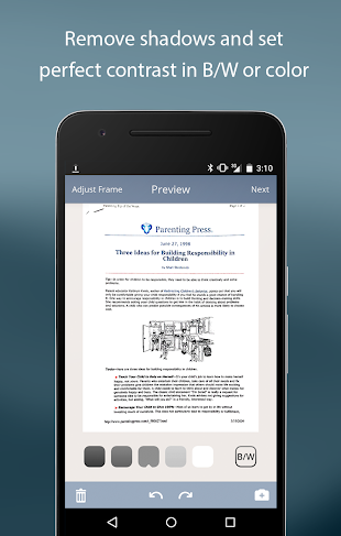 TurboScan: PDF scanner app- screenshot thumbnail