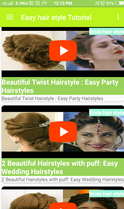 Girls Hair Style Video 2018 Apk Download Apkindo