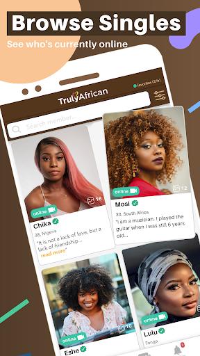TrulyAfrican - African Dating App 4.4.0 screenshots 2