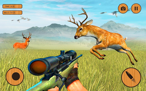 Extreme Wild Animals Hunter:Best Shooting Game 1.0.8 screenshots 2