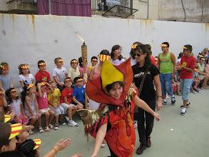 Photo: Visita de la Flama del Correllengua al Col·legi Bisbe Climent  de Castelló de la Plana. Divendres 30 de setembre del 2011.