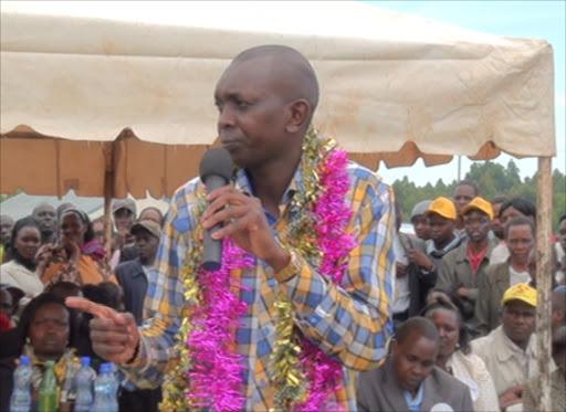 Kapsaret MP Oscar Sudi.