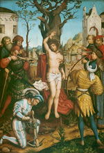 Photo: Hans Holbein El Viejo, St. Sebastian Altar. Central panel, Martyrdom of St. Sebastian, 1516