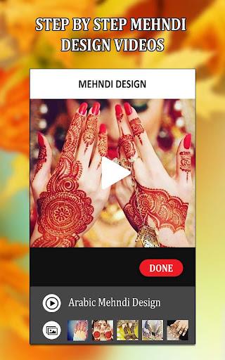 Simple Mehndi Designs Videos Tutorial Mehndi 2018  screenshots 5