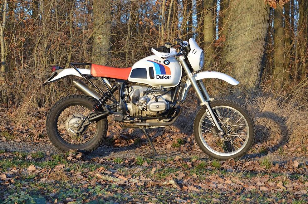 G/S Look auf BMW Motorrad R 100 G/S Basis