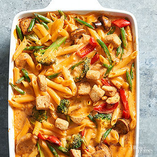Chicken-Vegetable Mac and Cheese