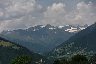 Photo: Widoczny m.in. najwyższy szczyt pasmaZuckerhütl (3507 m)