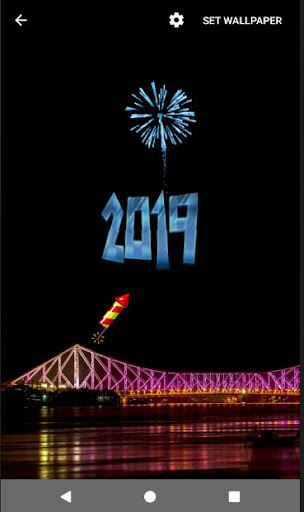 4D Happy New Year 2019 Live Wallpaper 1.0 screenshots 17