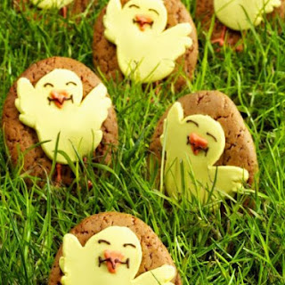 Festive Baby Bird Biscuits