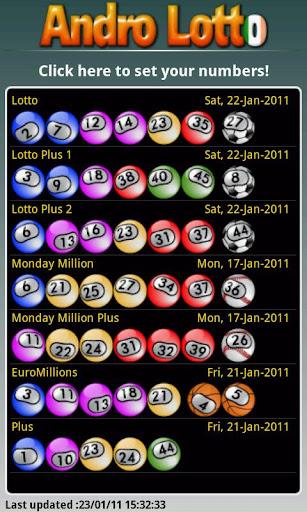 Andro Lotto screenshot 3