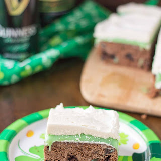 Irish Car Bomb Brownies
