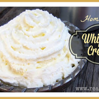 Healthy Homemade Whipped Cream.