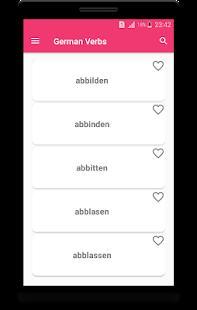 Deutsche Verben - náhled