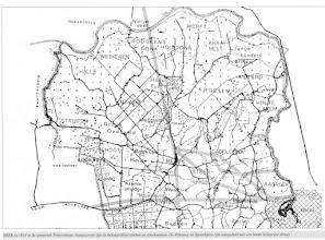 Photo: 1814 Kaart gebied Beek (P)Hage