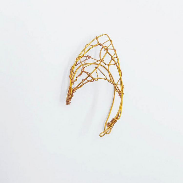 Myth Series EAR CUFF by MosesisM : Myth 0005. fully handmade and easy to wear, no piercing hole need