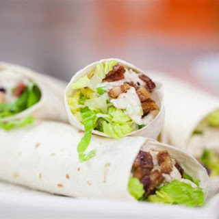 Chicken BLT Burritos with Pig Candy (BLT-Ritos)